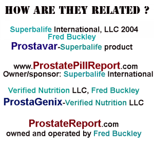 Best Prostate Report relationships