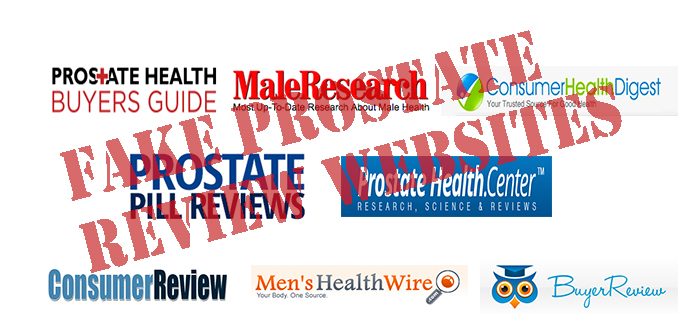 fake news prostate reviews